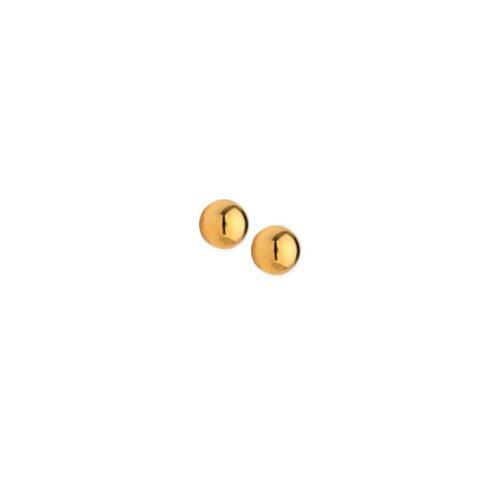 Χρυσά σκουλαρίκια Κ14-90-Κοσμήματα Μαμόγλου Αθήνα