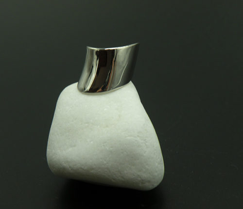 Ασημένιο επιπλατινωμένο δαχτυλίδι-1-κοσμήματα-μαμόγλου-Αθήνα
