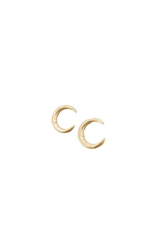 Ασημένια επιχρυσωμένα σκουλαρίκια 925 φεγγάρι-κοσμήματα μαμόγλου αθήνα-στη σωστή τιμή και ποιότητα