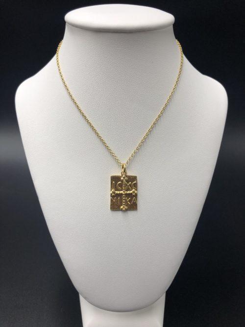 Επιχρυσωμένο κολιέ-1-κοσμήματα-μαμόγλου-Αθήνα
