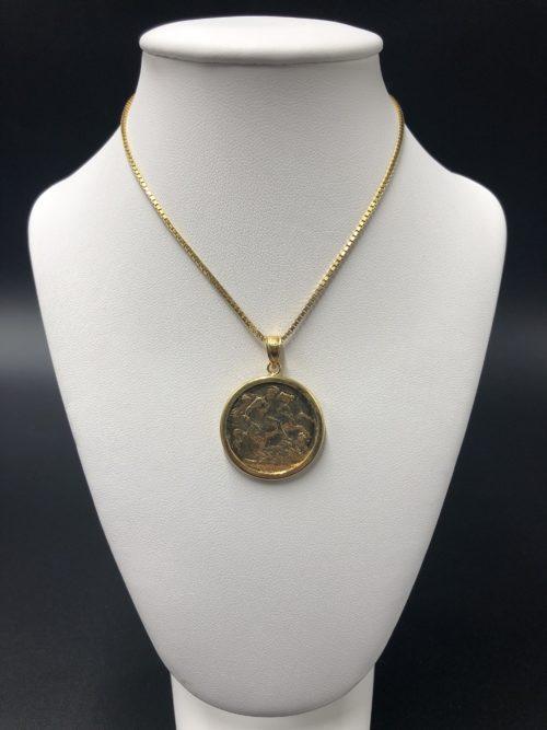 Επιχρυσωμένο κολιέ-3-κοσμήματα-μαμόγλου-Αθήνα