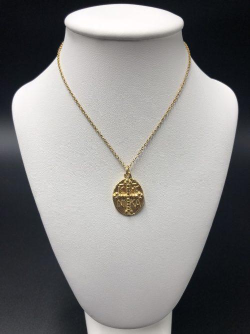 Επιχρυσωμένο κολιέ-4-κοσμήματα-μαμόγλου-Αθήνα