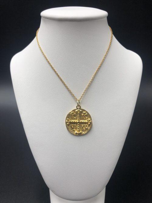Επιχρυσωμένο κολιέ-2-κοσμήματα-μαμόγλου-Αθήνα