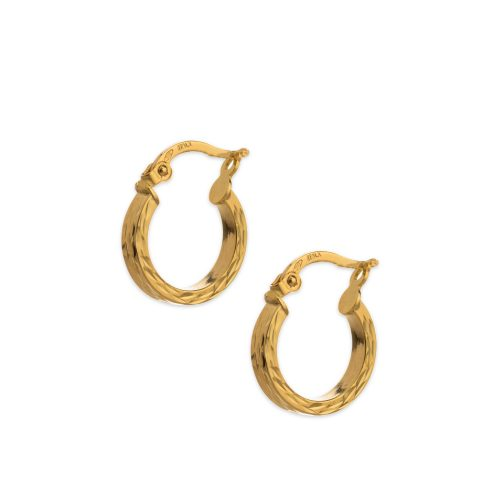 Χρυσοί κρίκοι Κ14-1804-Κοσμήματα Μαμόγλου Αθήνα