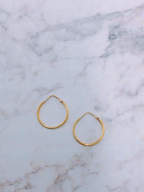 Ασημένιοι επιχρυσωμένοι κρίκοι-κοσμήματα μαμόγλου Αθήνα