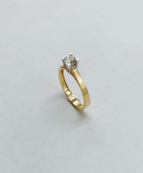 Λευκόχρυσο μονόπετρο 14Κ με ζιργκόν-51-κοσμήματα-μαμόγλου-Αθήνα