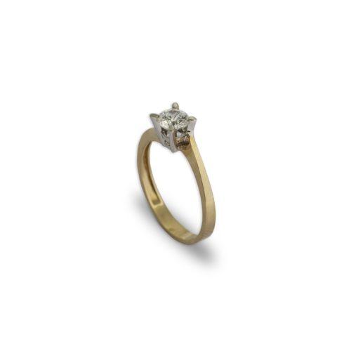 Μονόπετρο Κ14-1-κοσμήματα μαμόγλου Αθήνα