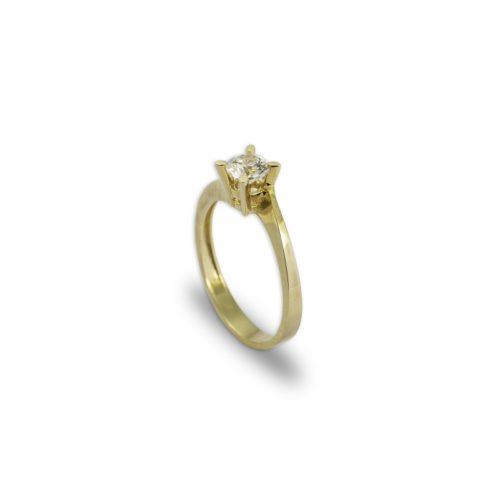 Μονόπετρο Κ14-2-κοσμήματα μαμόγλου Αθήνα