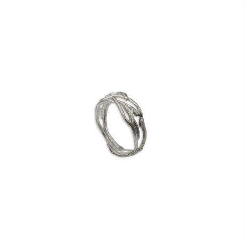 Ασημένιο δαχτυλίδι 3-κοσμήματα μαμόγλου Αθήνα