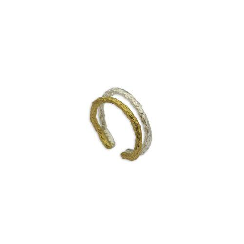 Ασημένιο δαχτυλίδι 5-κοσμήματα μαμόγλου Αθήνα