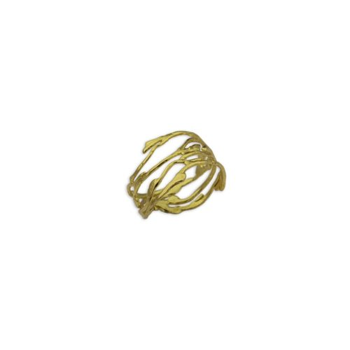 Ασημένιο επιχρυσωμένο δαχτυλίδι 2-κοσμήματα μαμόγλου Αθήνα