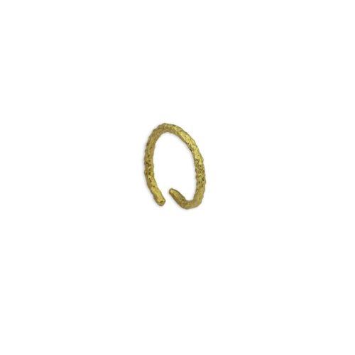 Ασημένιο επιχρυσωμένο δαχτυλίδι 7-κοσμήματα μαμόγλου Αθήνα