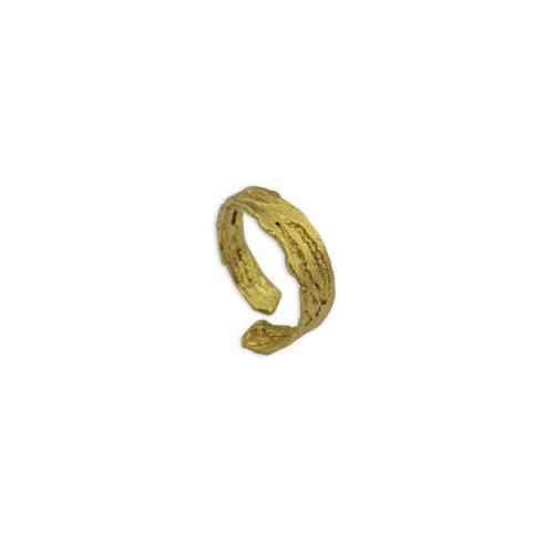Ασημένιο επιχρυσωμένο δαχτυλίδι 9-κοσμήματα μαμόγλου Αθήνα