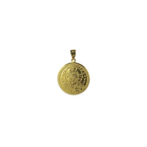Χρυσό κωνσταντινάτο Κ9 διπλής όψης-1α-κοσμήματα μαμόγλου Αθήνα