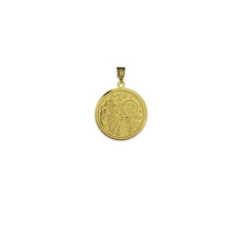 Χρυσό κωνσταντινάτο Κ9 διπλής όψης-1β-κοσμήματα μαμόγλου Αθήνα