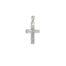 Λευκόχρυσος σταυρός Κ14-3-κοσμήματα μαμόγλου Αθήνα