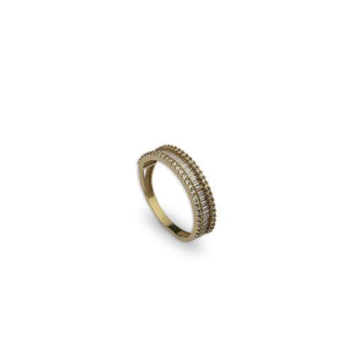Ροζ χρυσό δαχτυλίδι 8-κοσμήματα μαμόγλου Αθήνα