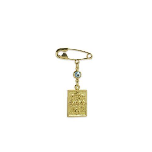 Χρυσή παραμάνα Κ9-16-κοσμήματα μαμόγλου Αθήνα.