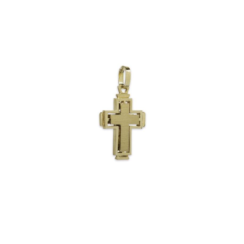 Χρυσός σταυρός Κ14-10β-κοσμήματα μαμόγλου Αθήνα