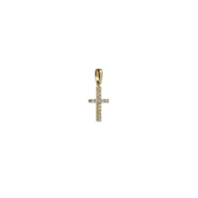 Χρυσός σταυρός Κ14-11-κοσμήματα μαμόγλου Αθήνα