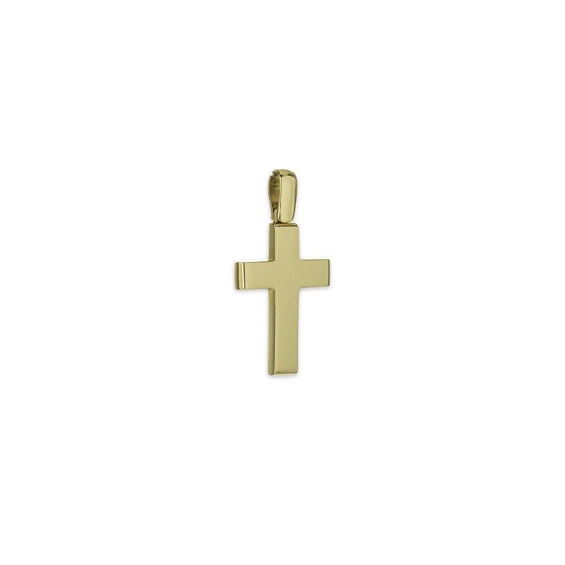 Χρυσός σταυρός Κ14-16-κοσμήματα μαμόγλου Αθήνα