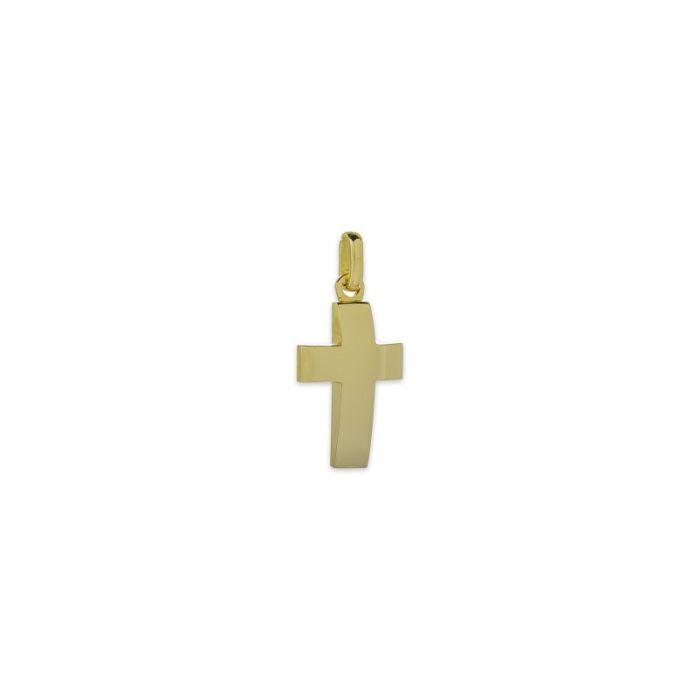 Χρυσός σταυρός Κ14-17-κοσμήματα μαμόγλου Αθήνα