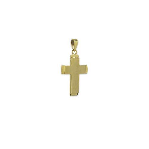 Χρυσός σταυρός Κ14-4-κοσμήματα μαμόγλου Αθήνα