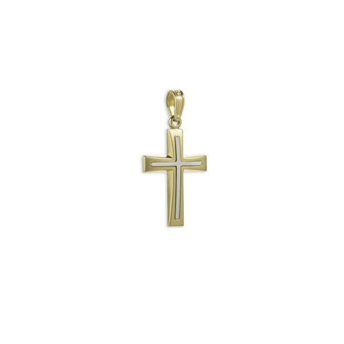 Χρυσός σταυρός Κ14-6-κοσμήματα μαμόγλου Αθήνα