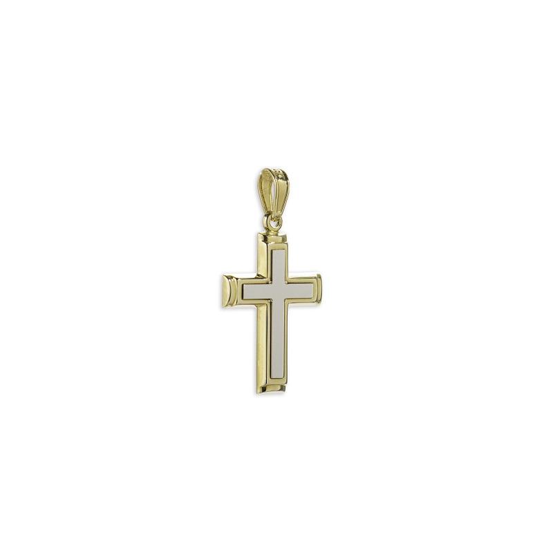 Χρυσός σταυρός Κ14-8-κοσμήματα μαμόγλου Αθήνα