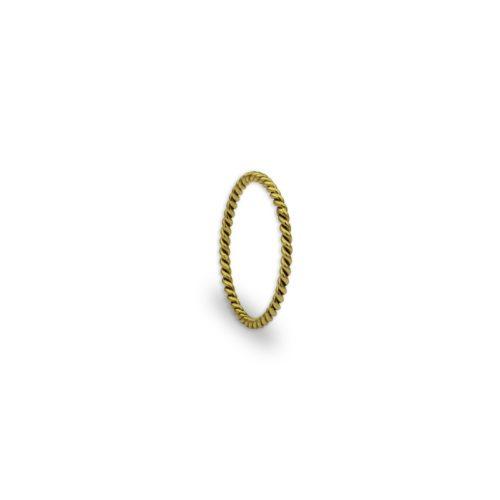 Χρυσό βεράκι στριφτό 13-κοσμήματα μαμόγλου Αθήνα