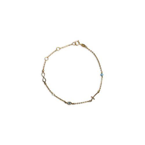 Βραχιόλι Κ14-8-κοσμήματα μαμόγλου Αθήνα