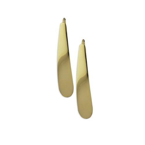 Χρυσά σκουλαρίκια κρεμαστά Κ14-1-κοσμήματα μαμόγλου Αθήνα