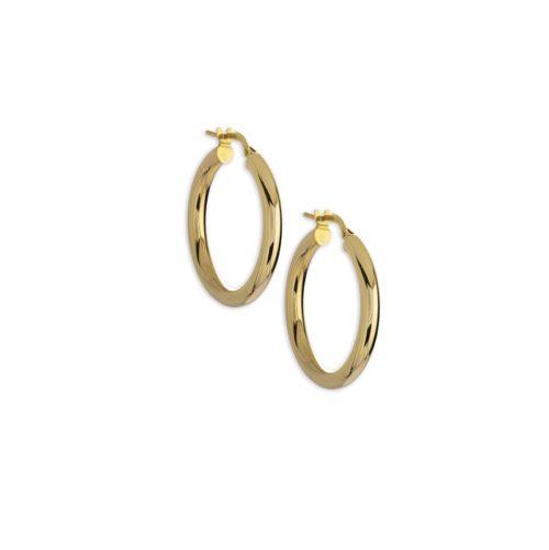 Χρυσοί κρίκοι Κ14-3-κοσμήματα μαμόγλου Αθήνα
