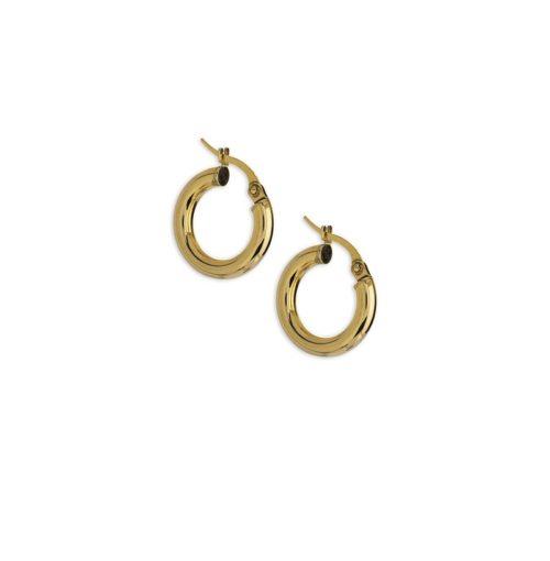 Χρυσοί κρίκοι Κ14-4-κοσμήματα μαμόγλου Αθήνα