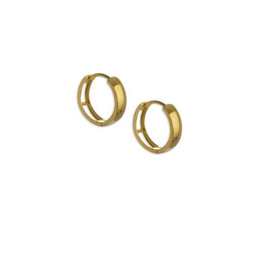 Χρυσοί κρίκοι Κ14-5-κοσμήματα μαμόγλου Αθήνα