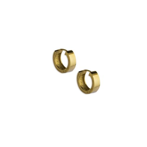 Χρυσοί κρίκοι Κ14-6-κοσμήματα μαμόγλου Αθήνα
