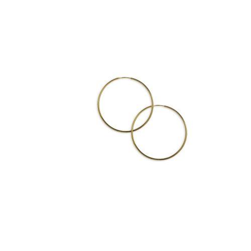 Χρυσοί κρίκοι Κ14-9-κοσμήματα μαμόγλου Αθήνα