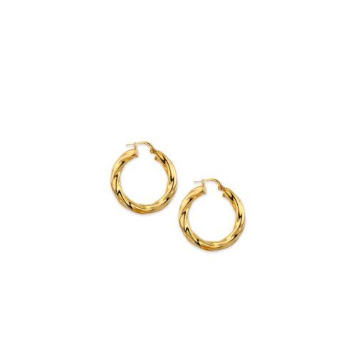 Ασημένιοι επιχρυσωμένοι κρίκοι 925°-2-Κοσμήματα Μαμόγλου Αθήνα