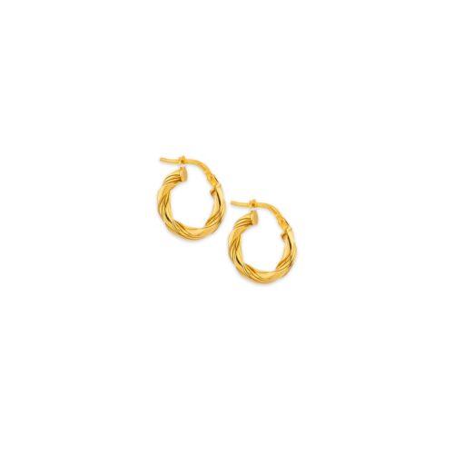 Ασημένιοι επιχρυσωμένοι κρίκοι 925°-5-Κοσμήματα Μαμόγλου Αθήνα