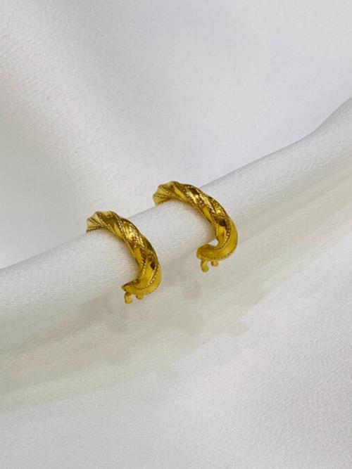 Ασημένιοι επιχρυσωμένοι μικροί κρίκοι 925-3-κοσμήματα μαμόγλου Αθήνα