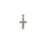 Λευκόχρυσος σταυρός Κ14-31-κοσμήματα μαμόγλου Αθήνα