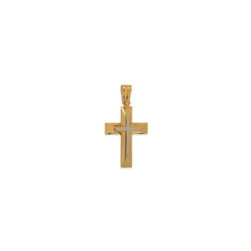 Χρυσός σταυρός Κ14-1000 -κοσμήματα μαμόγλου αθήνα