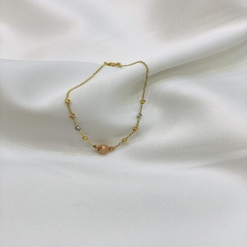 Χρυσό βραχιόλι Κ14-κοσμήματα μαμόγλου Αθήνα