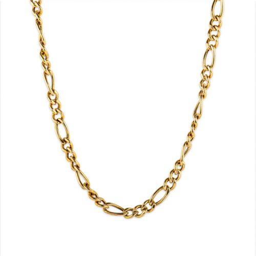 Ασημένια επιχρυσωμένη αλυσίδα.-3-Κοσμήματα μαμόγλου αθήνα