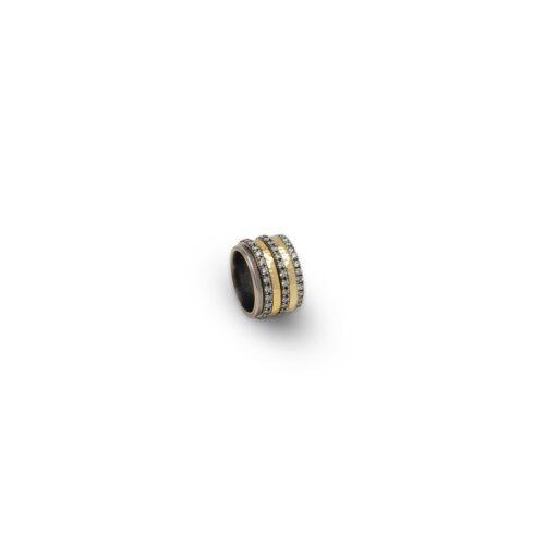 Ασημένιο δαχτυλίδι επιχρυσωμένο με ζιργκόν-31-κοσμήματα μαμόγλου Αθήνα
