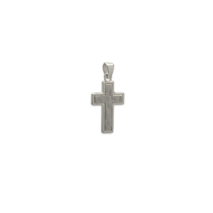 Ασημένιος σταυρός-14-κοσμήματα μαμόγλου Αθήνα
