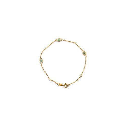 Ασημένιο επιχρυσωμένο βραχιόλι -45-κοσμήματα μαμόγλου Αθήνα