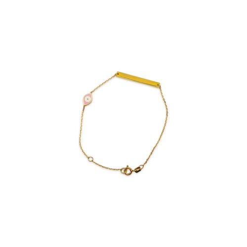 Ασημένιο επιχρυσωμένο βραχιόλι -48-κοσμήματα μαμόγλου Αθήνα