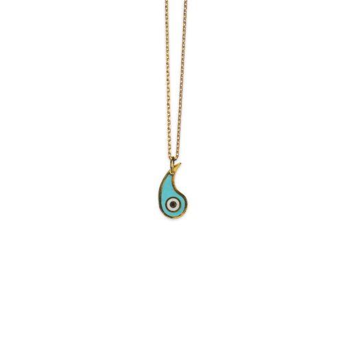 Ασημένιο επιχρυσωμένο κολιέ-7-.Κοσμήματα Μαμόγλου Αθήνα