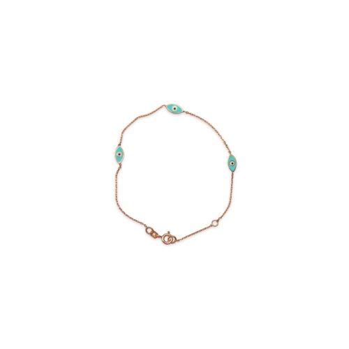 Ασημένιο ροζ επιχρυσωμένο βραχιόλι -44-κοσμήματα μαμόγλου Αθήνα